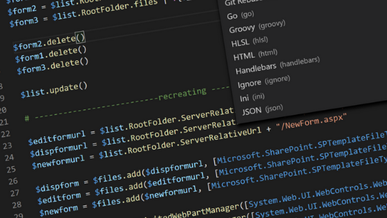 Visual Studio Code by Microsoft JSON