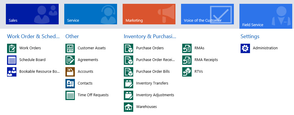 Microsoft CRM Field Service Management Video Demo