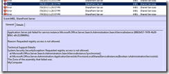 Requested registry access is not allowed SharePoint 2010