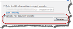 upload new sharepoint content type template