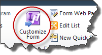 Customize form