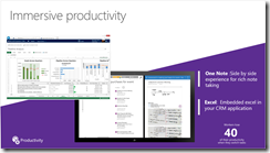 OneNote Excel Dynamics CRM 2015 Integration