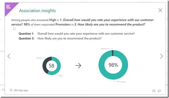 Microsoft Forms Pro Responses Sentiment Insights