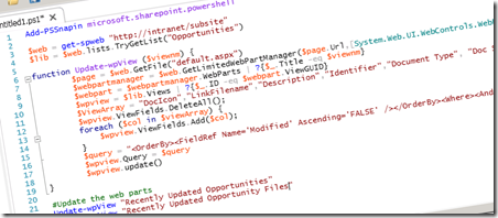 How to Update SharePoint XSLTListView Web Parts Using PowerShell
