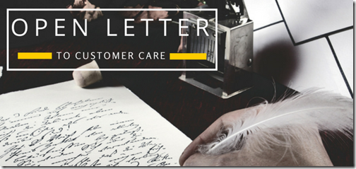 Digital CRM Customer Care Letter