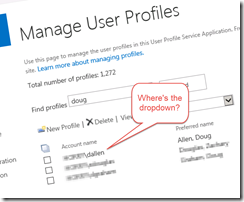Quick Fix When You Can't Edit SharePoint User Profile Properties