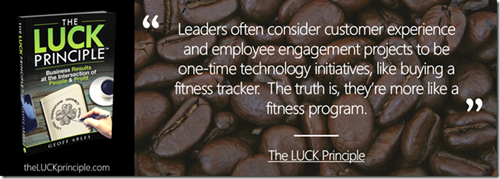 Digital Transformation ROI The LUCK Principle