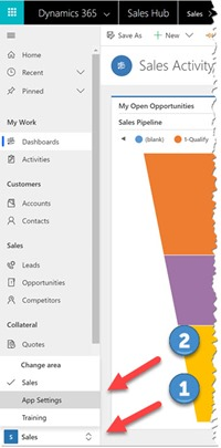 Screenshot Creating a Dynamics 365 Playbook