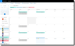 Office 365 Group Calendar