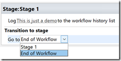 SharePoint 2013 end of workflow