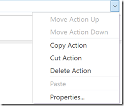 Copy and paste SharePoint 2013 workflow actions
