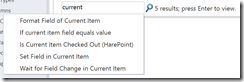 SharePoint 2010 workflow actions