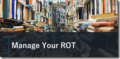 Balanced Governance - Manage Your ROT