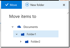 SharePoint Online copy or move a folder or file