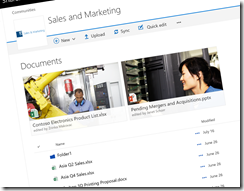 SharePoint Online new library experience