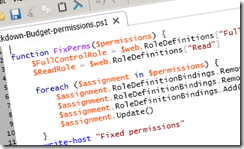 Use PowerShell to Set Permissions on All SharePoint Libraries, Folders and Files