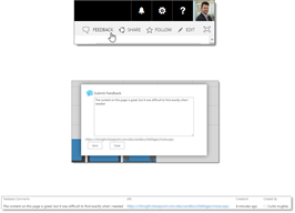 sharepoint intranet feedback add-in solution