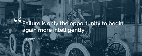 Henry Ford - Failure Quote