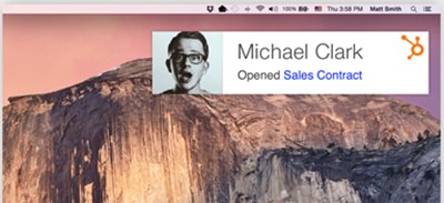 Tracking Microsoft Outlook email clicks with HubSpot Sales