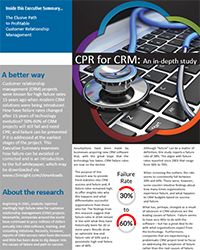 C5 Insight Reveals New Study, Reports Top Factors in CRM Failure